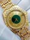 君皇18K金豪華鑽錶 CONCORD SARATOGA 極度奢華 身份與地位的象徵 瑞士製造 鑽石顆顆精選 合計約四克拉鑲鑽