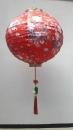 圓形繡花燈籠