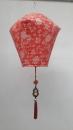 紅色梯型燈籠