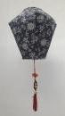 黑色梯型燈籠