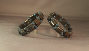 AB25GNT晶源礦能量手環(鋼絲線)