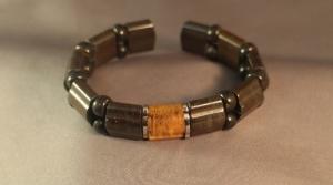 AB59GNCS晶源礦創藝能量手環(鋼絲線)