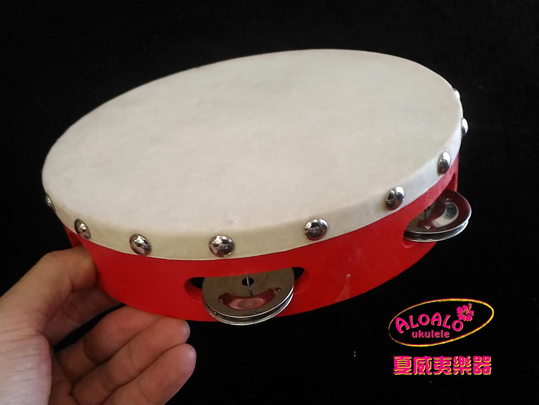 (熱賣補貨中)八吋木框羊皮鈴鼓