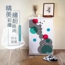 高清彩繪二門鞋櫃-CA14