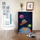 高清彩繪二門鞋櫃-CA19