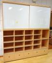 塑鋼白板櫃