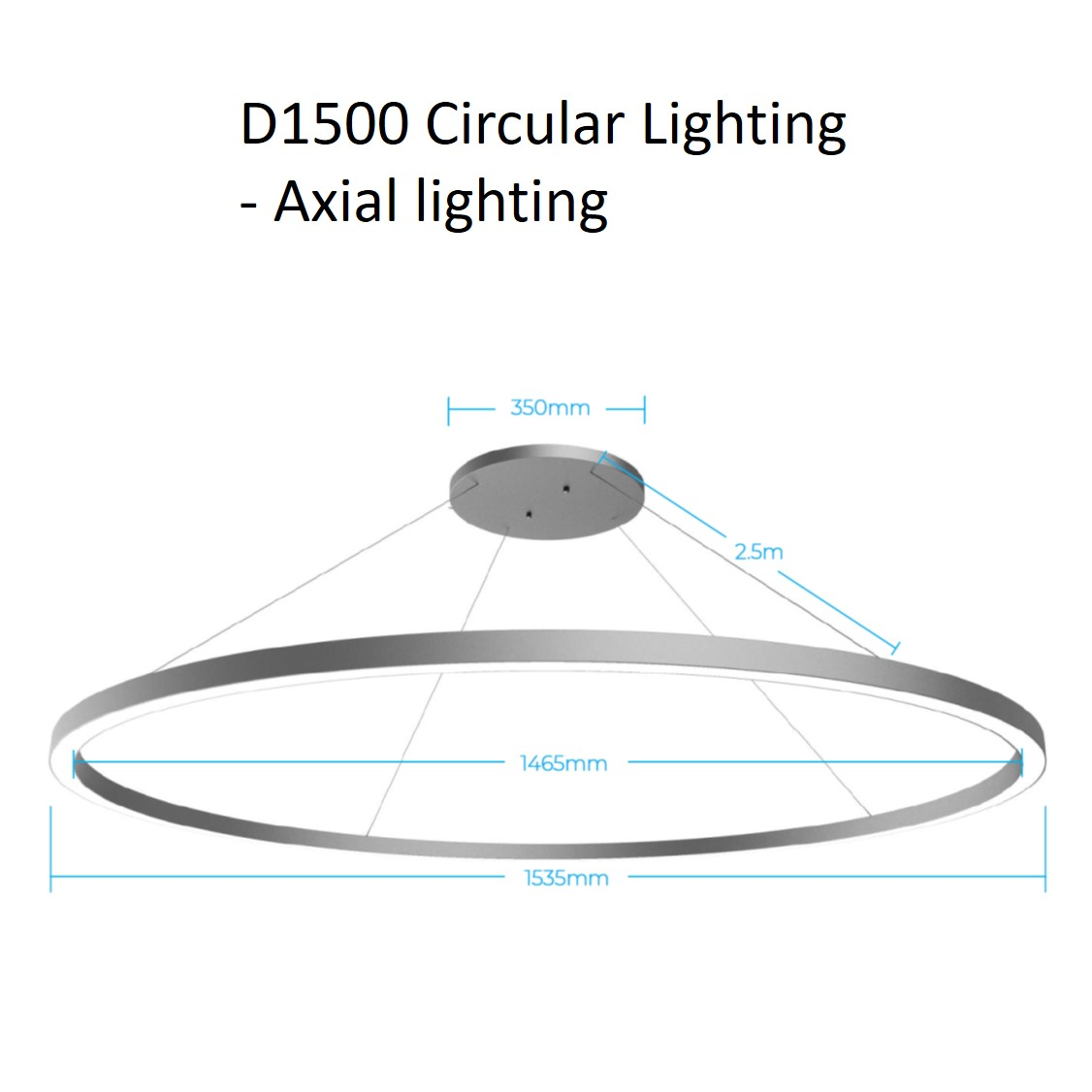 D1500 circular lighting - axial