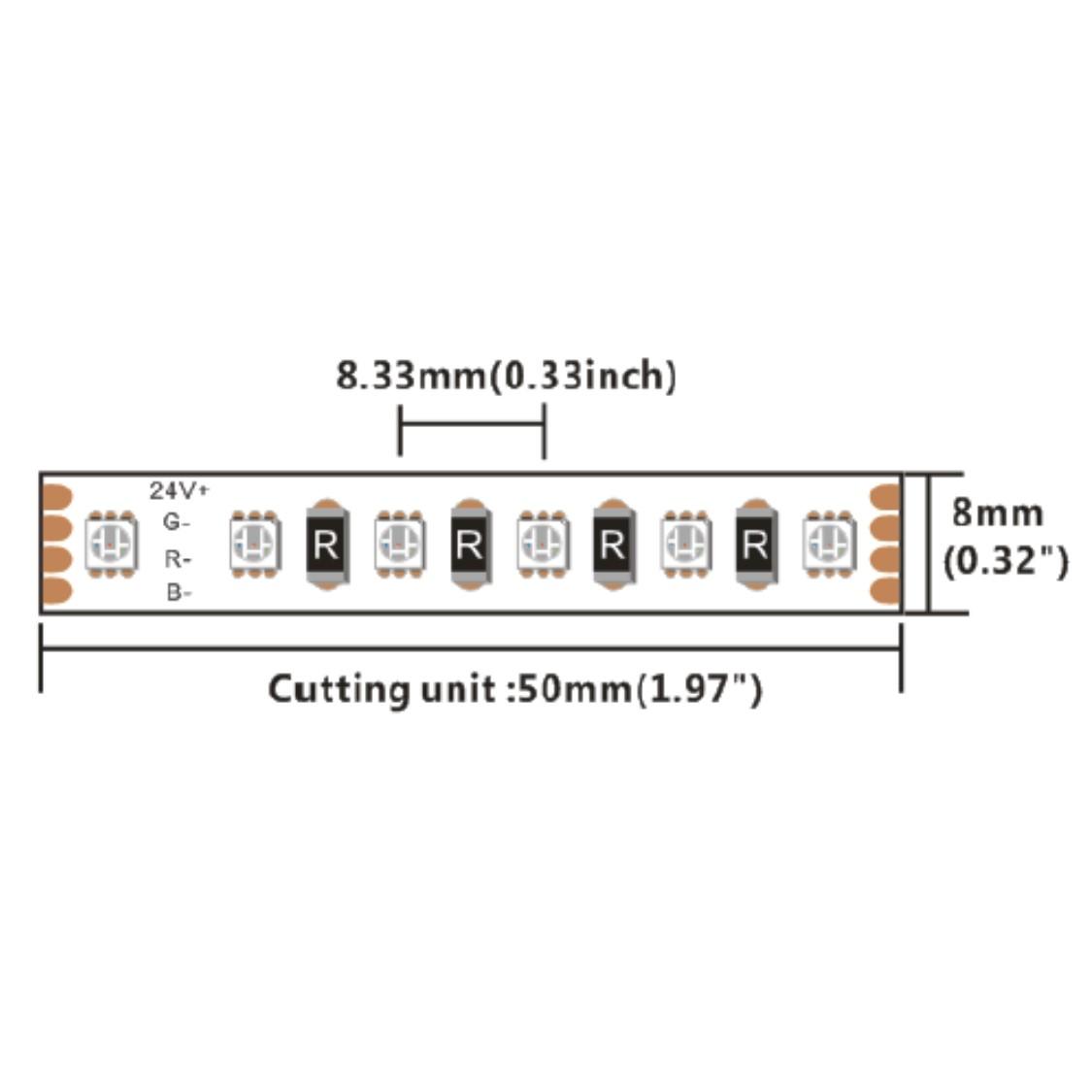 DA120RGB-24V-8MM