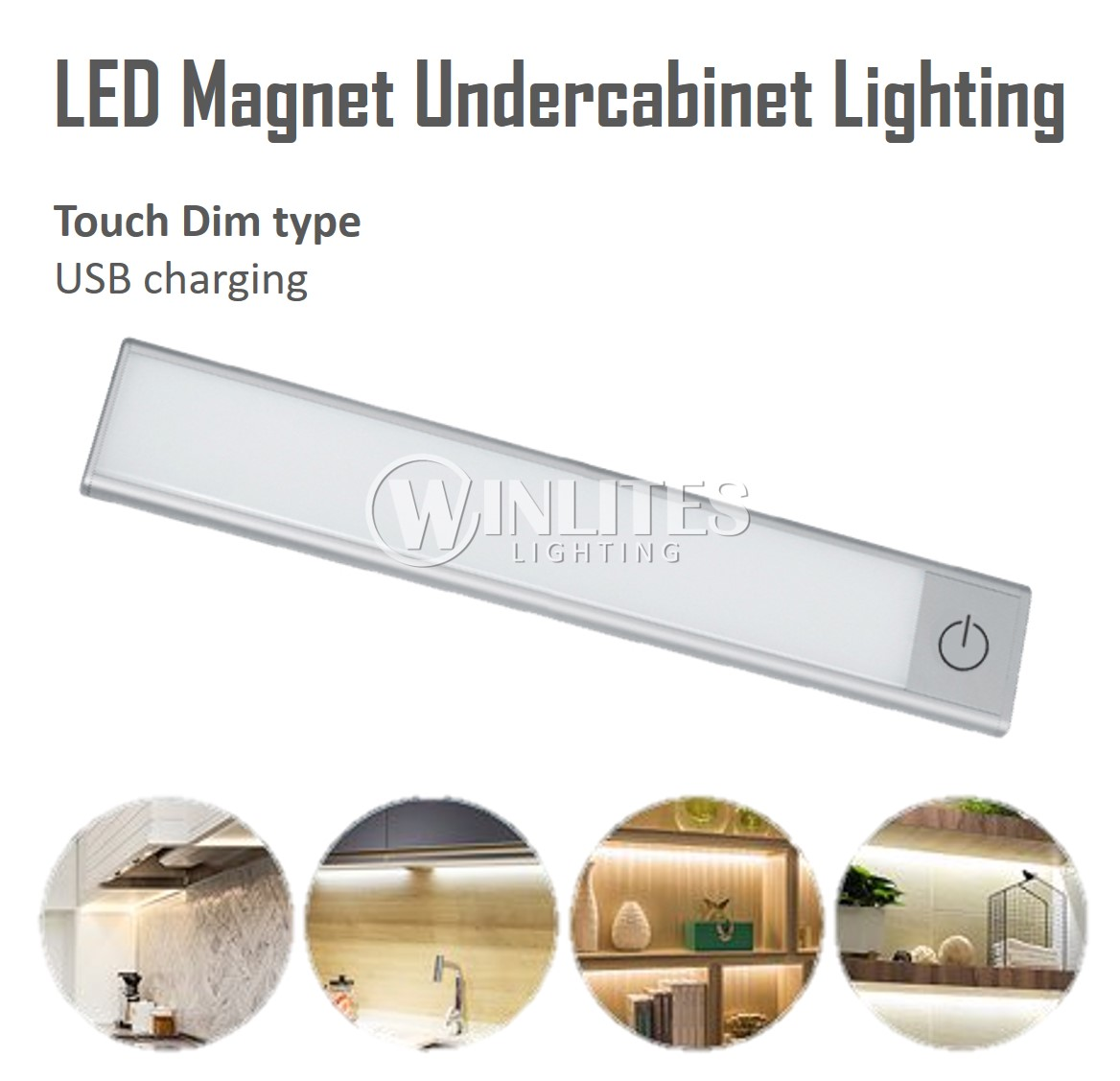 Ultra Slim Magnet Light - Touch Dim