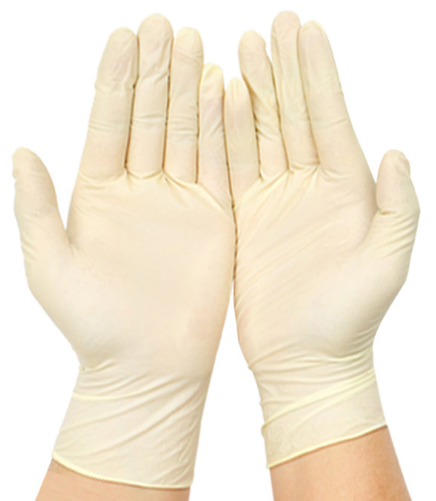 無粉乳膠手套
