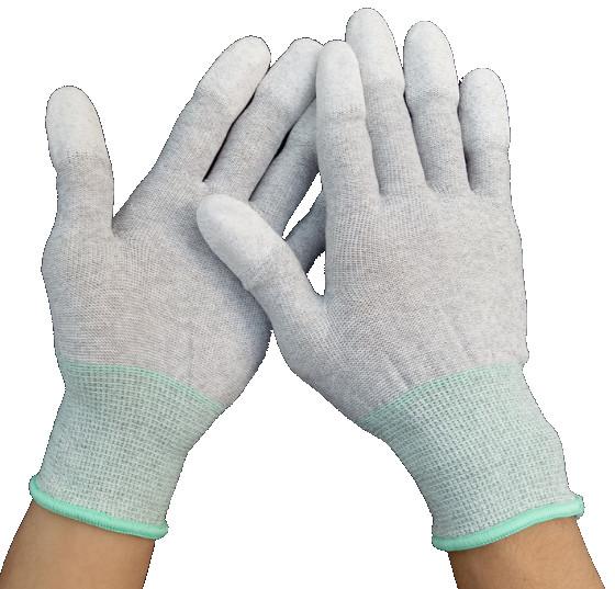 指尖PU塗佈抗靜電手套