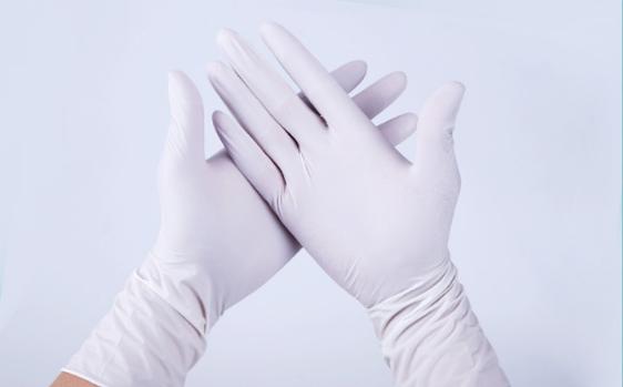 無粉NBR手套(白色)