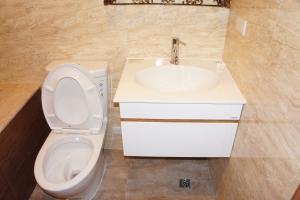 台北水電維修案例-台北市住家廁所洗手台安裝維修