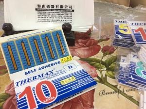 溫度貼紙 10L-D  10個點