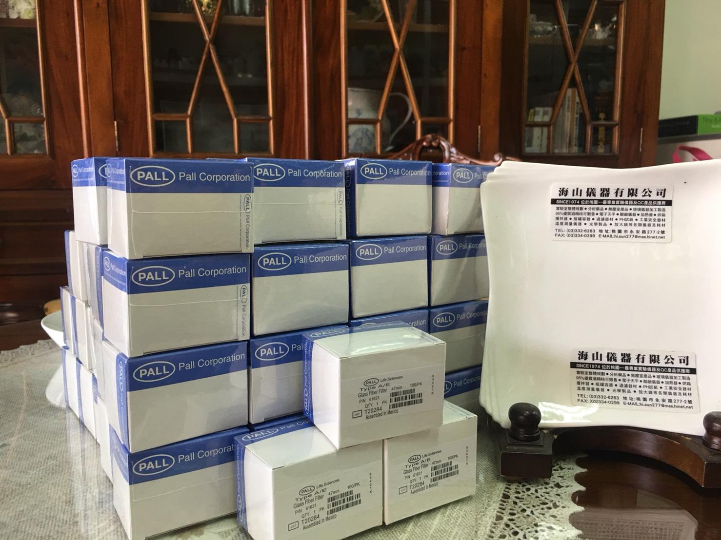 玻璃纖維濾紙-A E-1UM-47MM-PALL-海山儀器-現貨供應