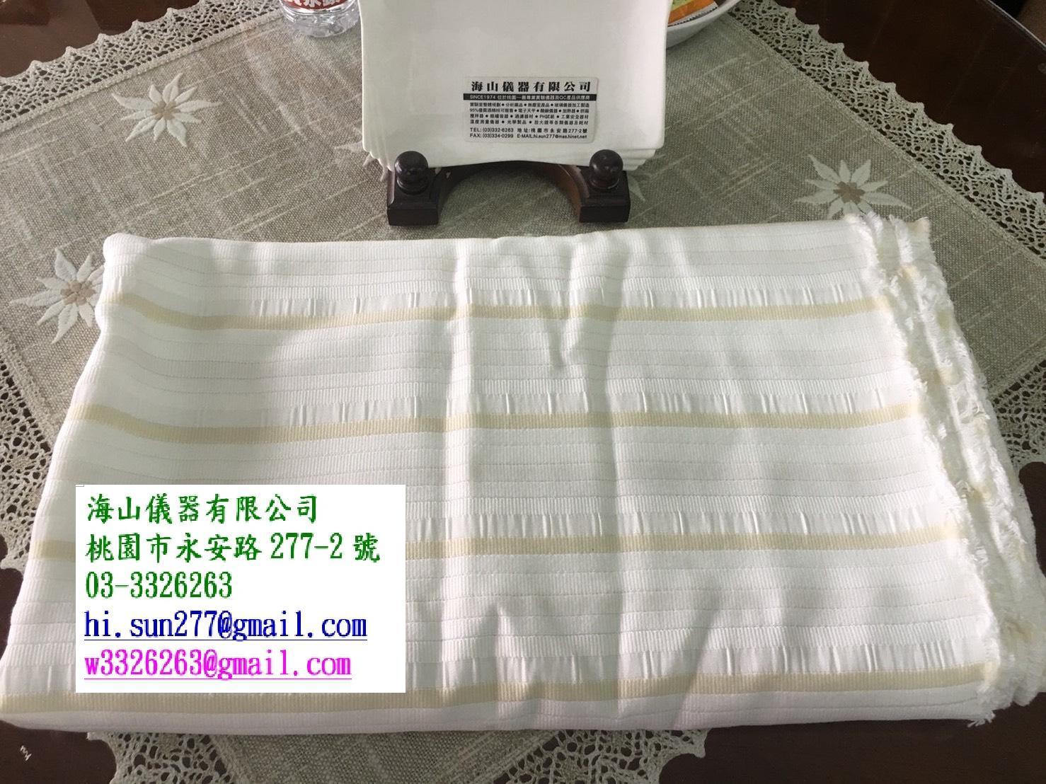 六種纖維實驗布