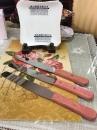 不鏽鋼刮刀8吋木柄刮刀 總長325刃長205mm