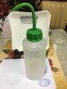 台製-PE彩色洗滌瓶500ML-紅 黃 白 綠 藍-隨機出色.