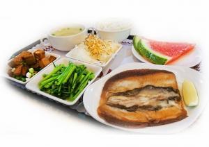 虱目魚肚餐