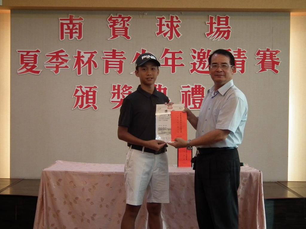 2018年南寶盃青少年錦標賽成績
