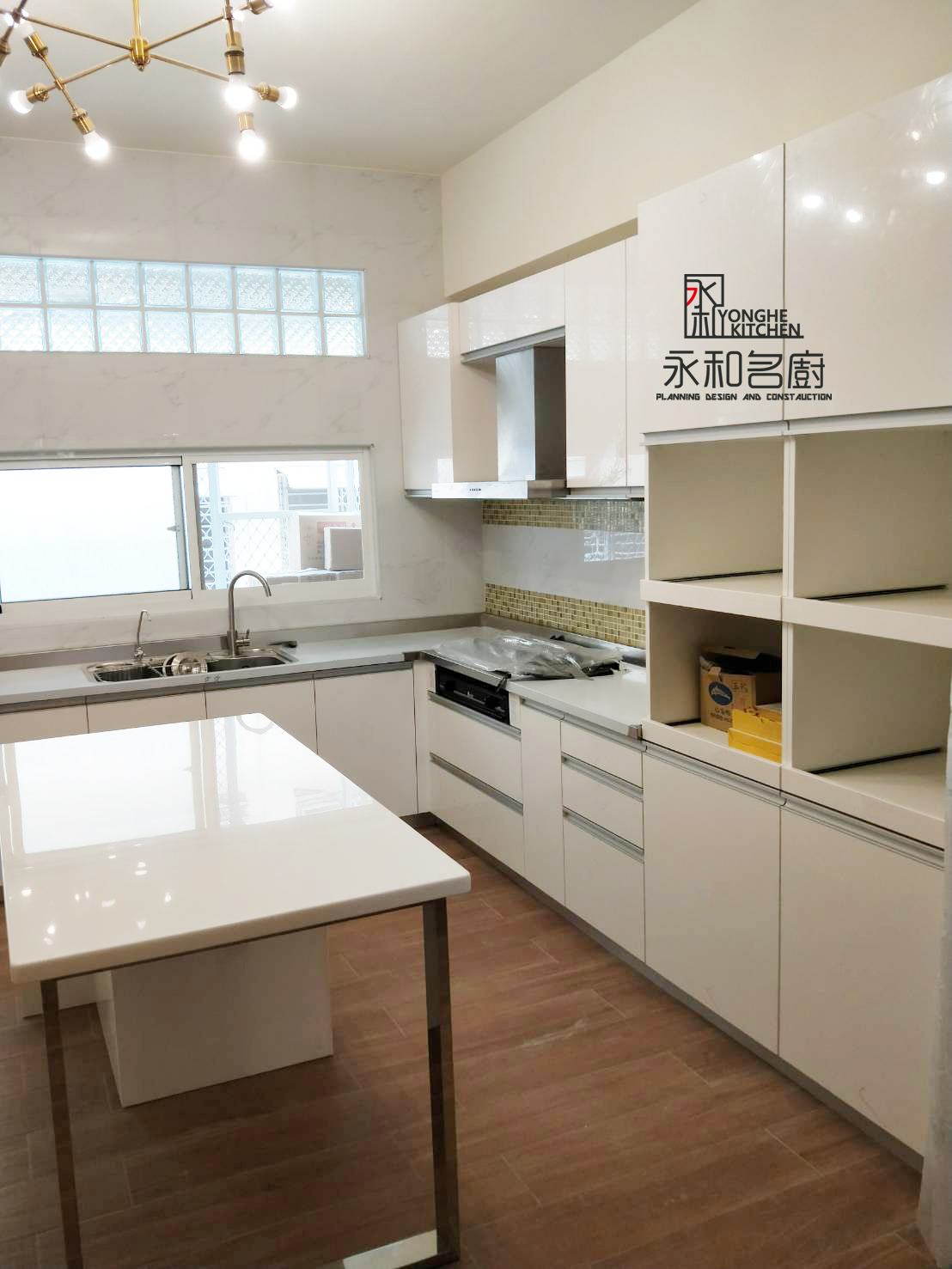 L型系統廚具(中安路)
