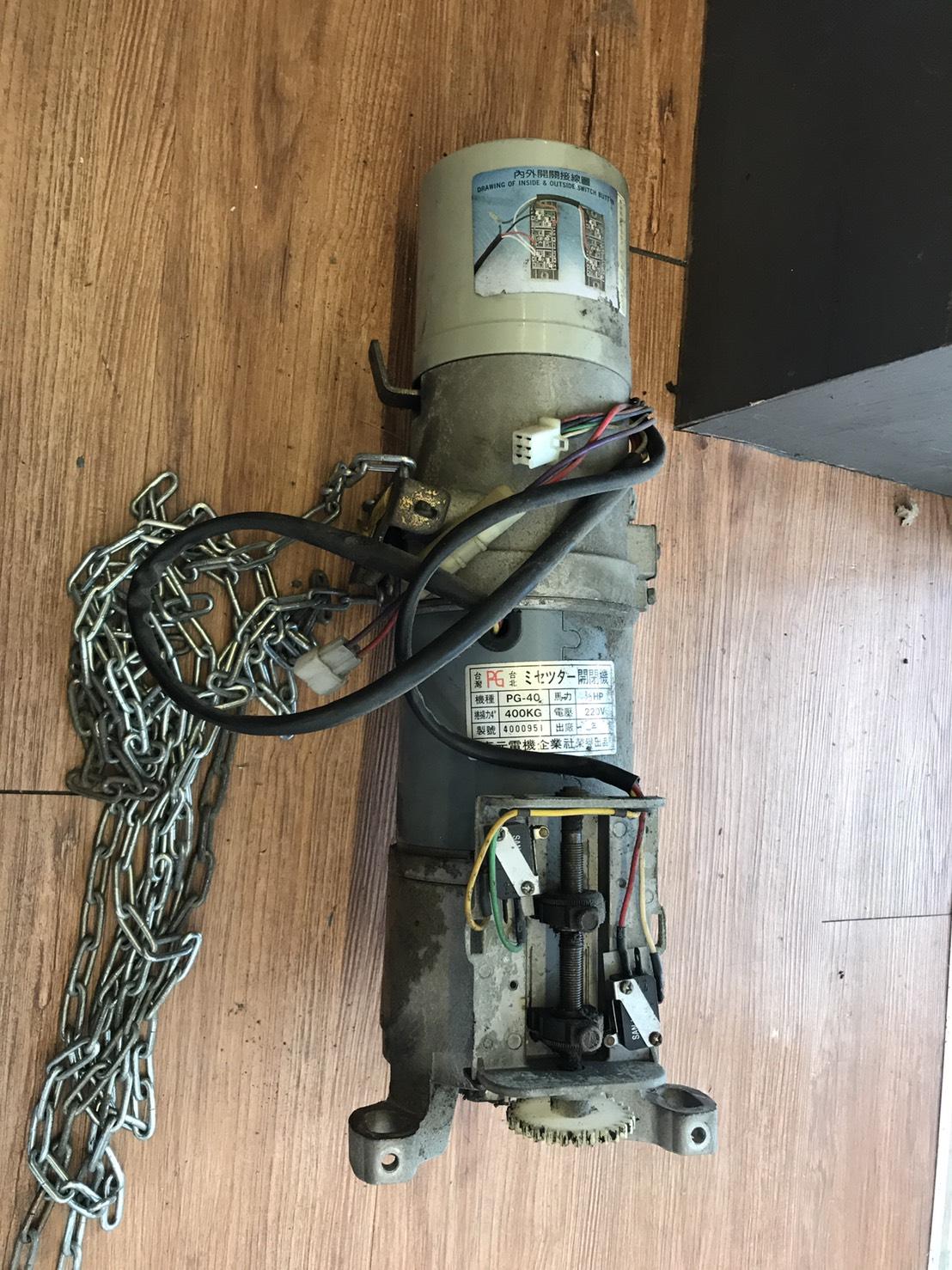 鐵捲門馬達更換、鐵捲門維修、快速捲門維修、電動鐵捲門維修、電動捲門維修
