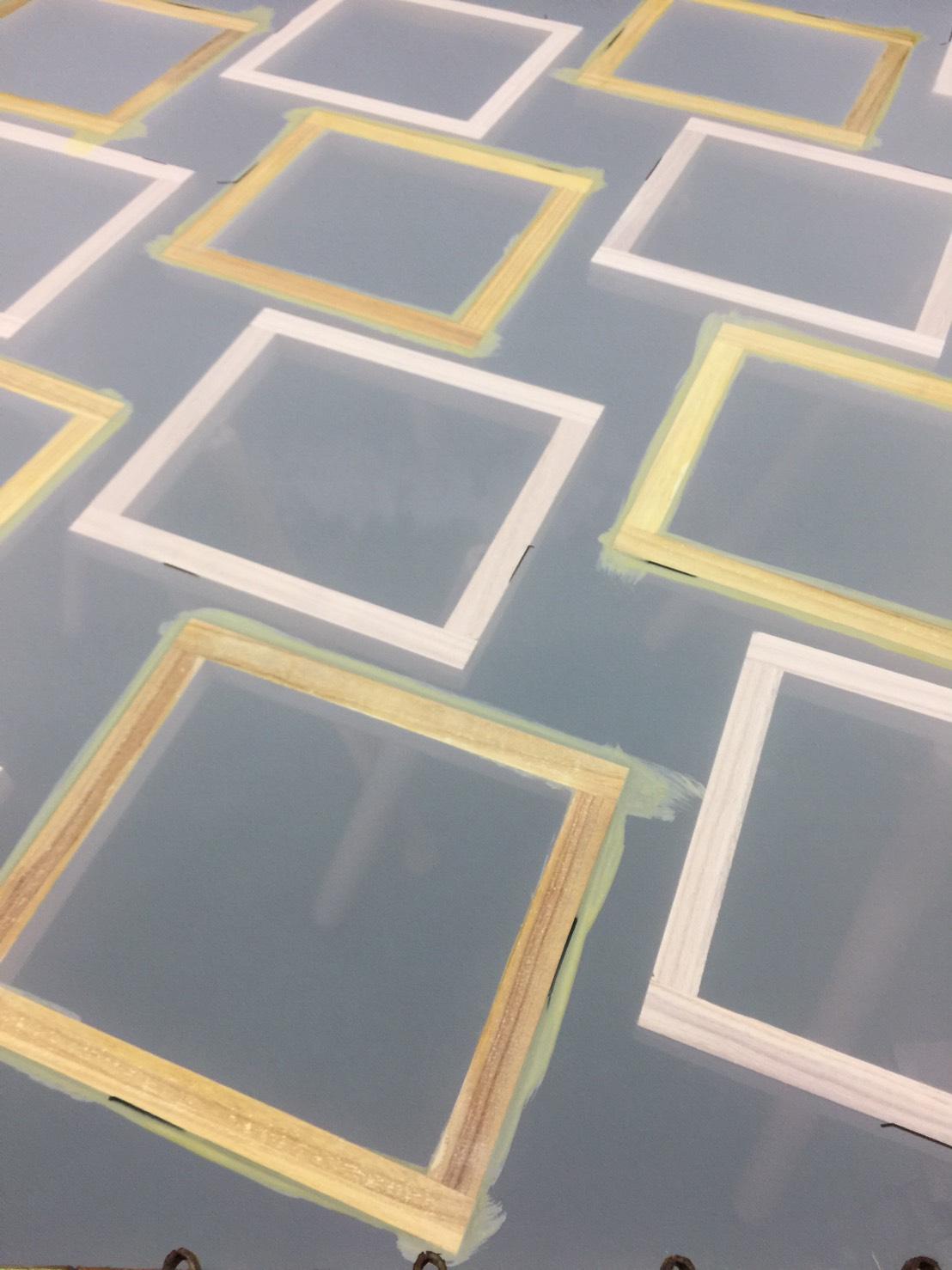 台中網版印刷材料,網版材料,網版木框