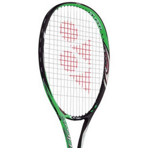 Y0NEX 軟網球拍 NEXIGA 70S 90拍面 重量245g 顏色綠色