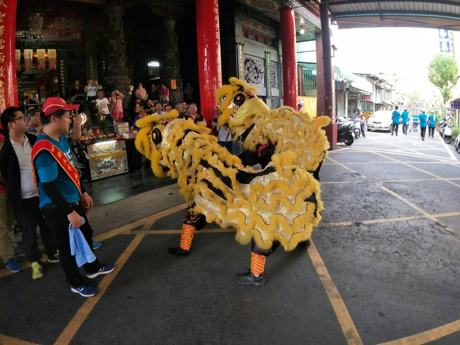 戊戌年國曆7月14日,感謝鼓山保太宮過境本殿,贊助光彩。15