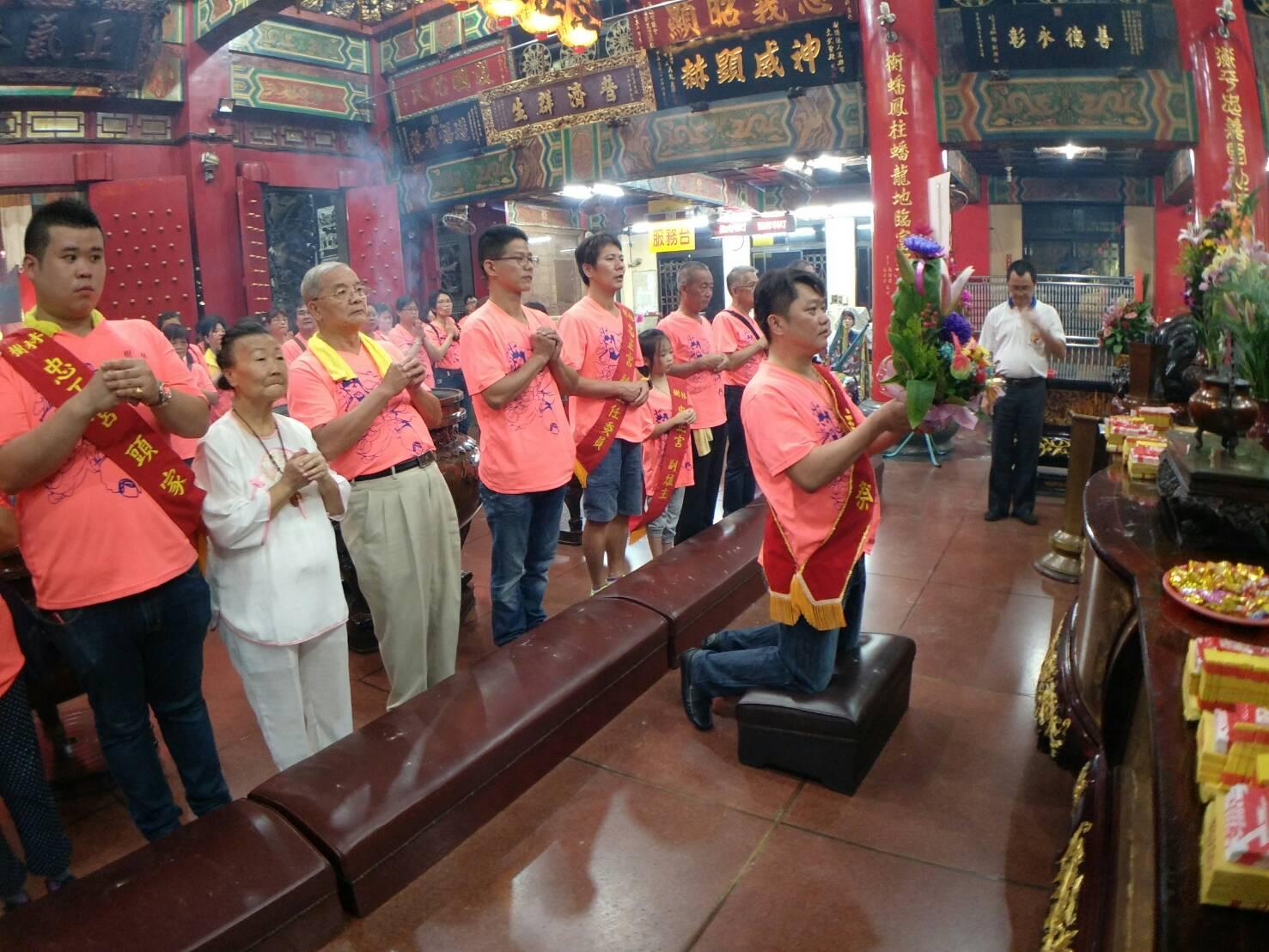 戊戌年國曆7月14日歡迎樹林忠正宮,蒞臨本殿謁祖晉香02