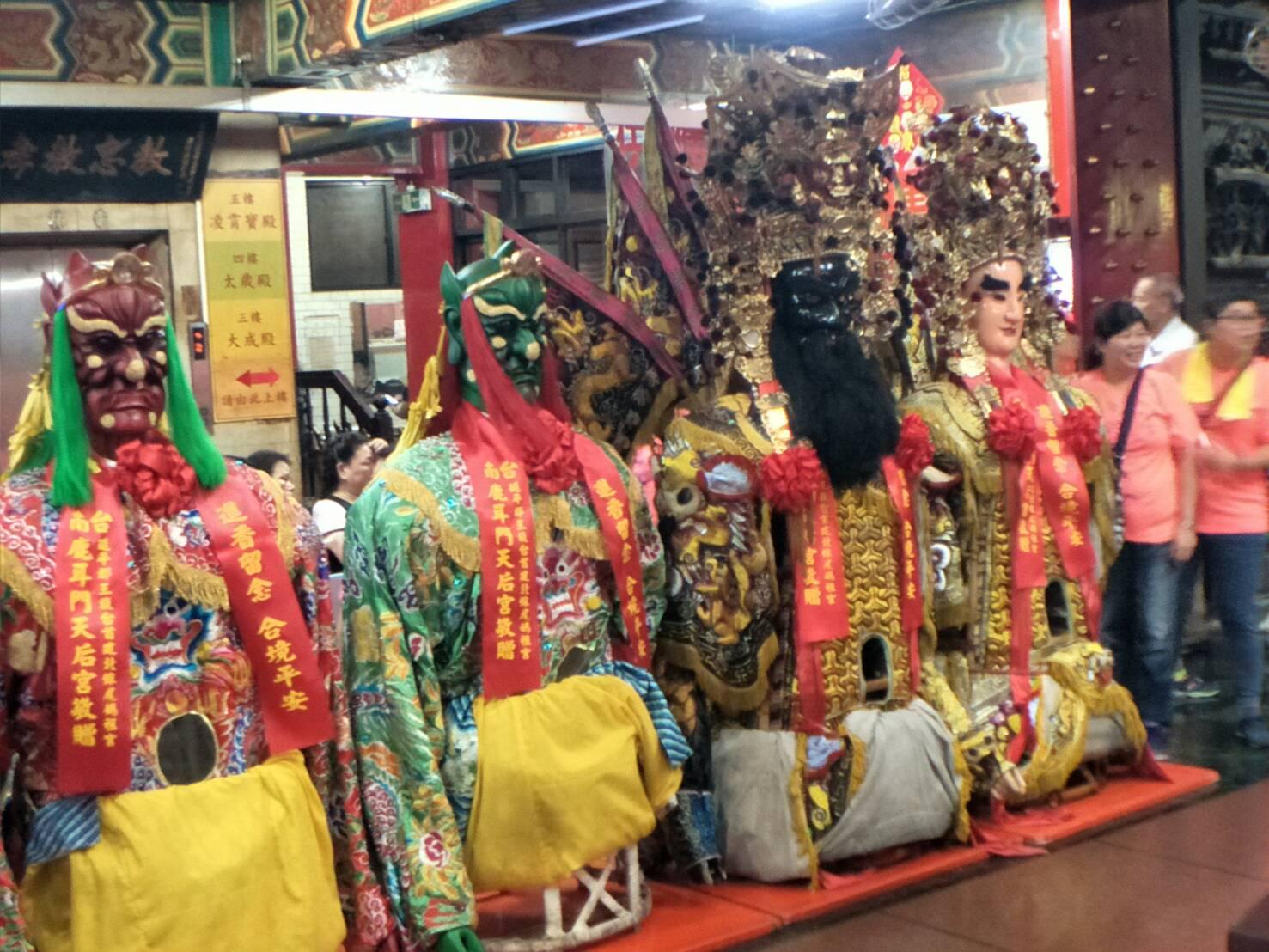 戊戌年國曆7月14日歡迎樹林忠正宮,蒞臨本殿謁祖晉香06
