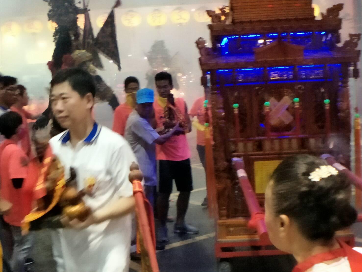 戊戌年國曆7月14日歡迎樹林忠正宮,蒞臨本殿謁祖晉香10