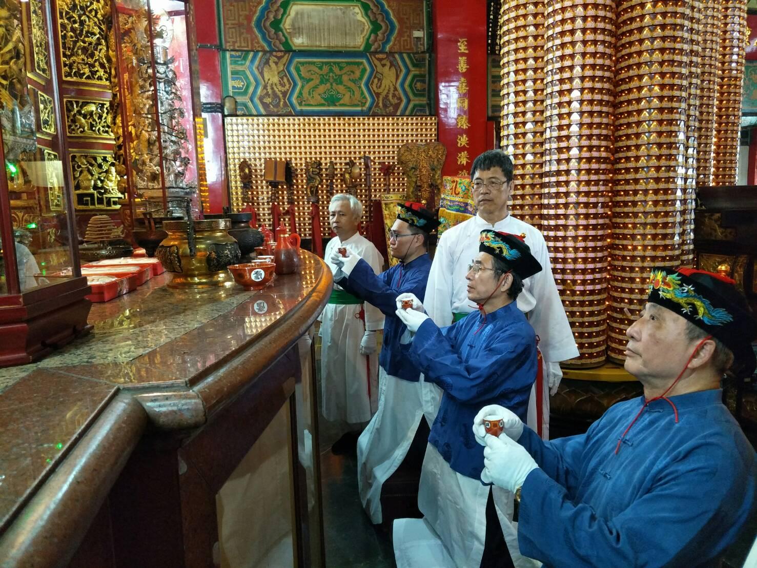 戊戌年(107年)9月28日祭孔大典21