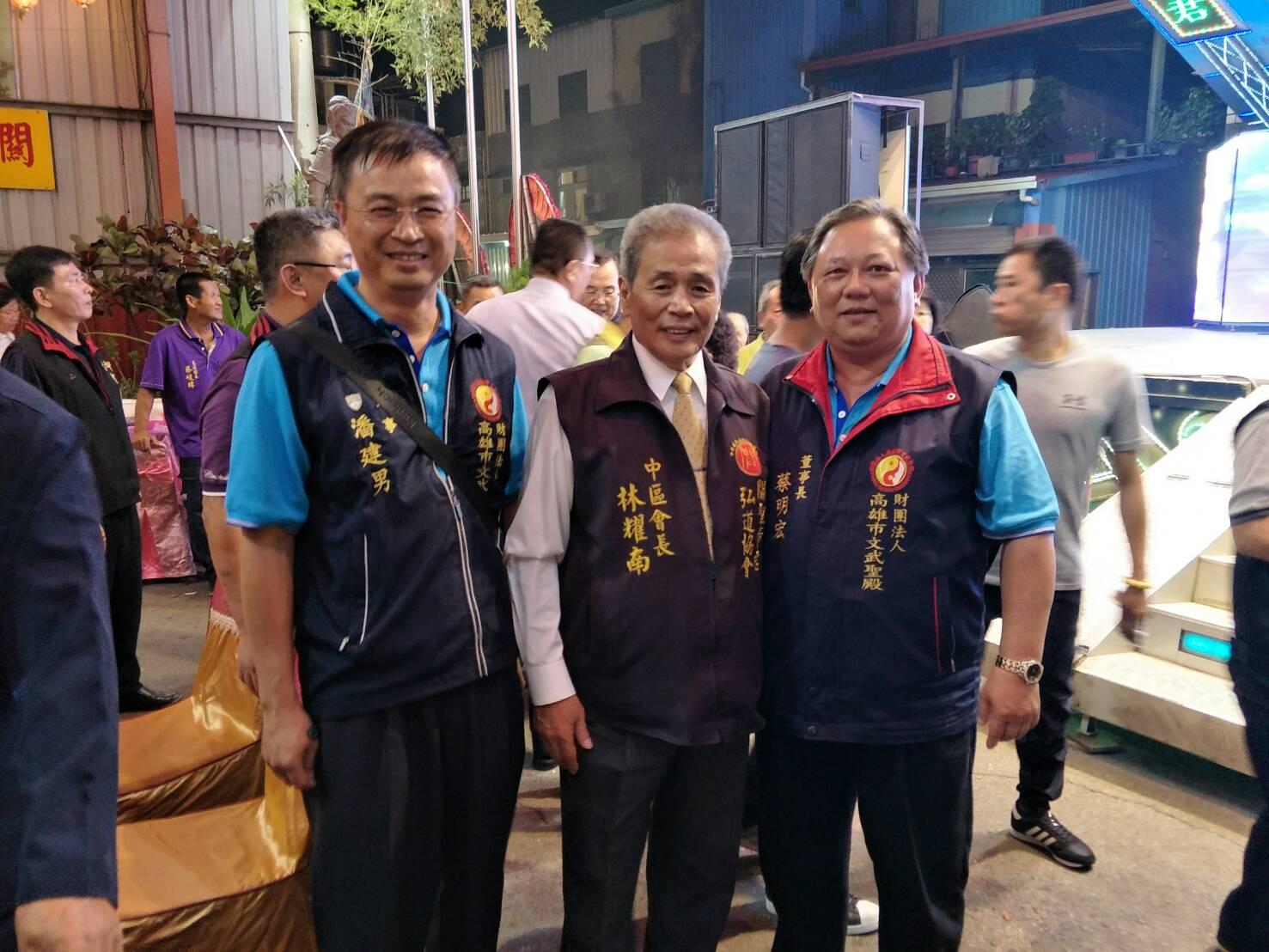 戊戌年(107)董事長及董事參加台中聖武宮慶典03