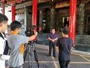 慶聯電視台閱高雄節目蒞殿專訪