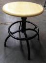 鋼管木質圓凳