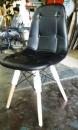 皮質造型椅