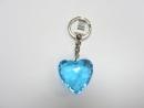 心型造型鑰匙圈(藍)