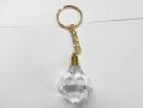 鑽石型造型鑰匙圈(透明)