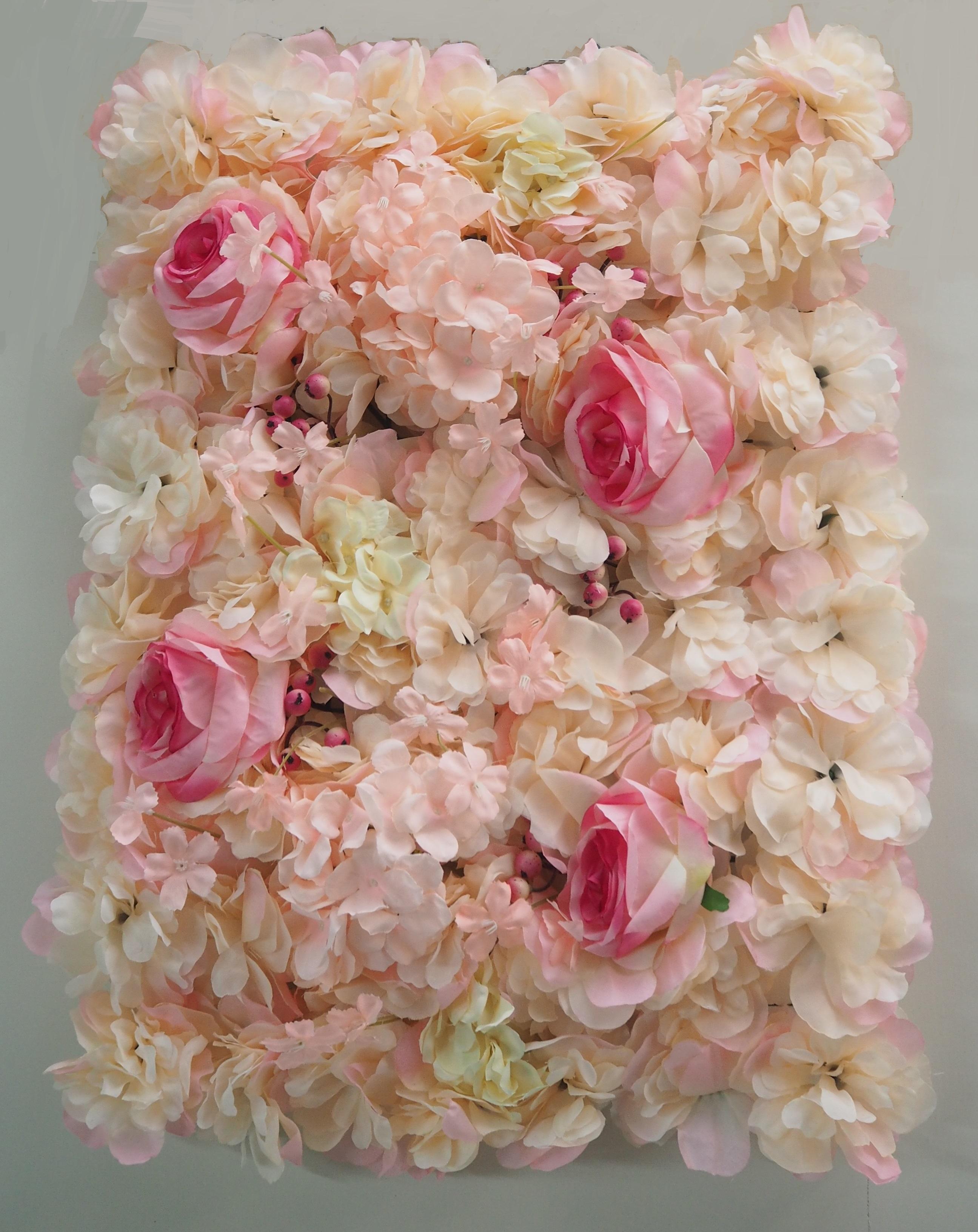 花牆-粉白