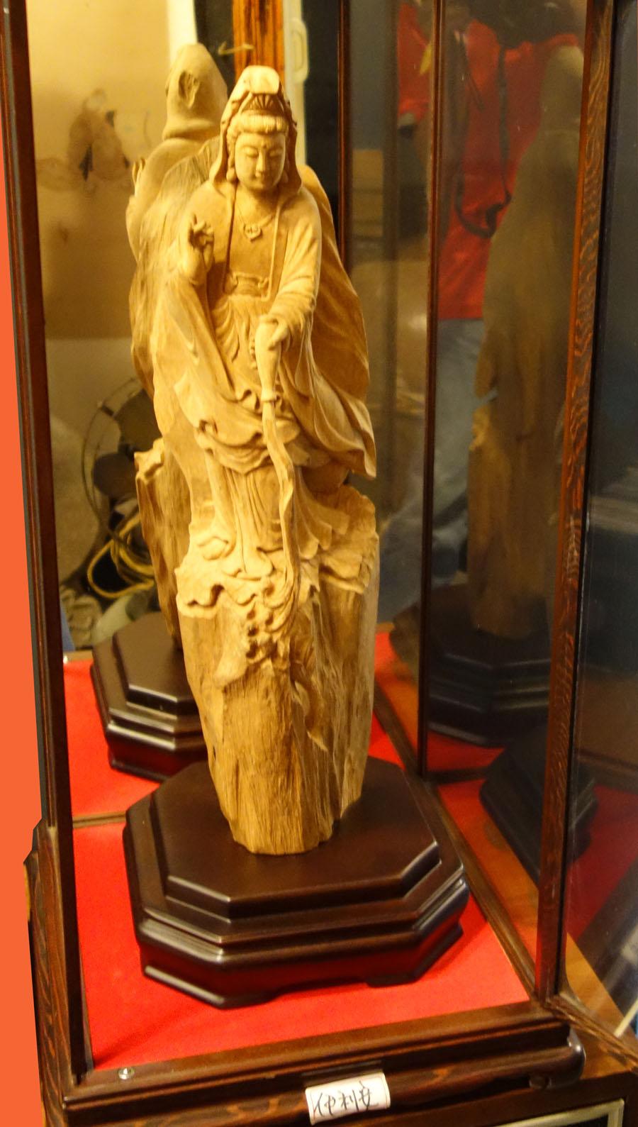 木雕觀音像