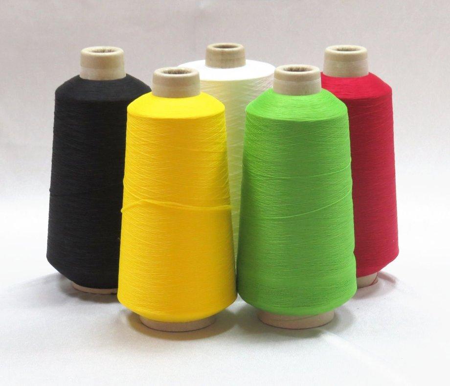 伸縮尼龍打絞色紗及拷車縫線 -2