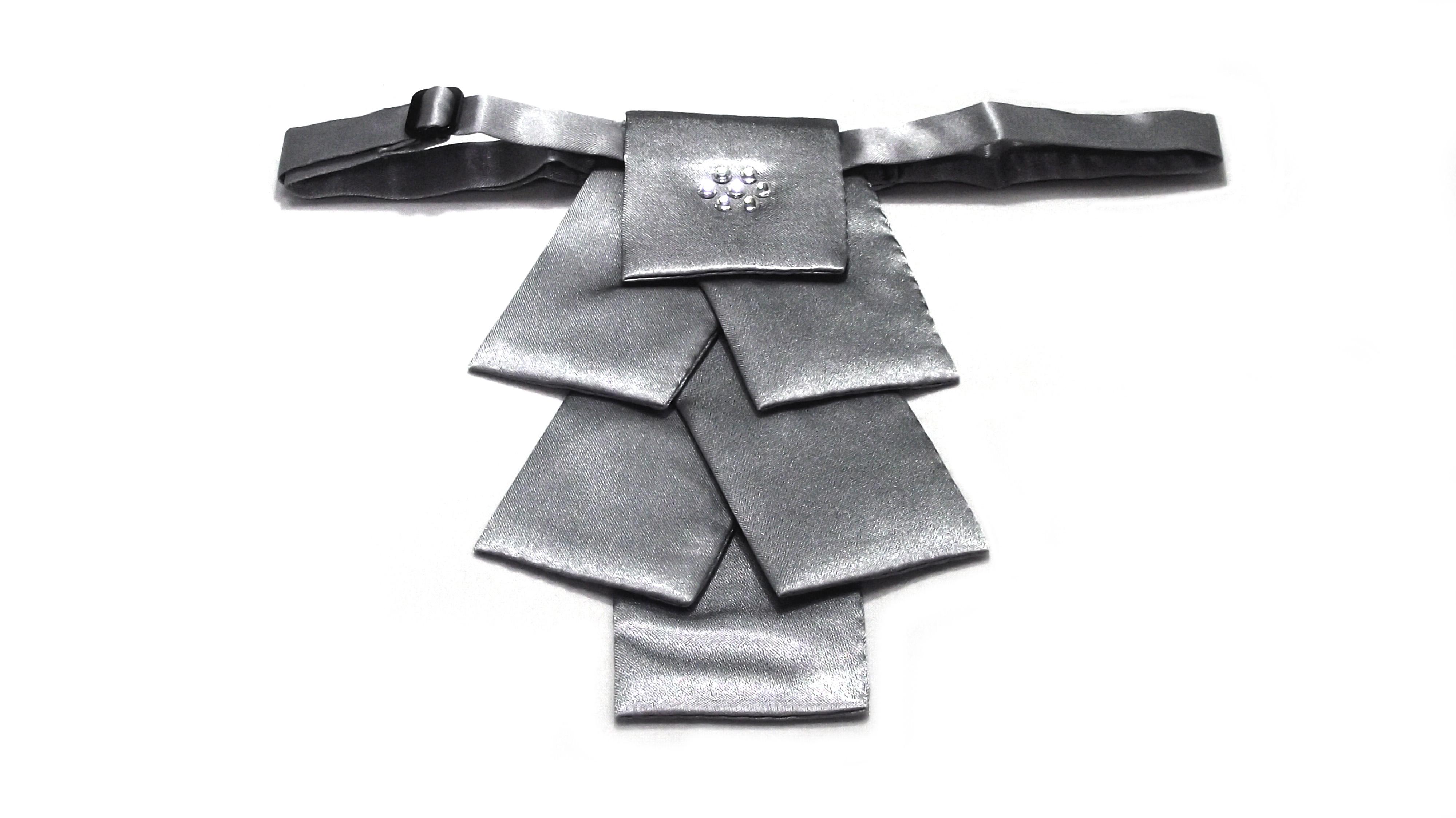 高級織花布領花490N-9