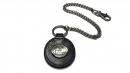 星座牛皮鑰匙鍊(玄色-水瓶座)K290-1