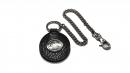 星座牛皮鑰匙鍊(玄色-雙魚座)K290-2