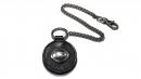 星座牛皮鑰匙鍊(玄色-牡羊座)K290-3