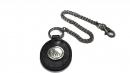 星座牛皮鑰匙鍊(玄色-雙子座)K290-5