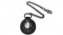 星座牛皮鑰匙鍊(玄色-獅子座)K290-7