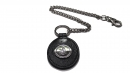 星座牛皮鑰匙鍊(玄色-處女座)K290-8