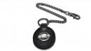 星座牛皮鑰匙鍊(玄色-摩羯座)K290-12